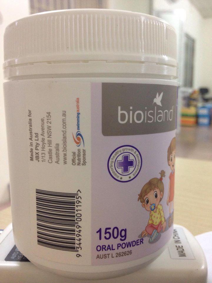 Bio Island Lysine Starter For Kids chứa lysine - một loại axit amin thiết yếu, giúp hỗ trợ tăng trưởng khỏe mạnh ở trẻ