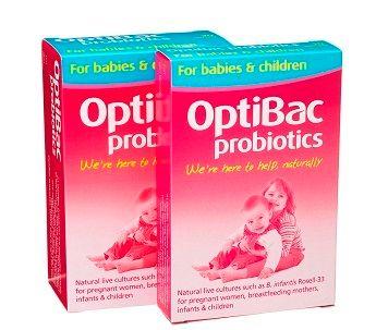 Men vi sinh Optibac chứa tới 3 tỉ vi khuẩn sống và 0.75g chất xơ FOS, giúp hỗ trợ hệ đường ruột tối ưu