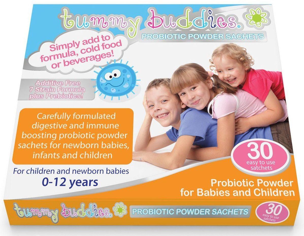 Men vi sinh Tummy Buddies - Hỗ trợ tiêu hóa cho trẻ từ sơ sinh của Anh
