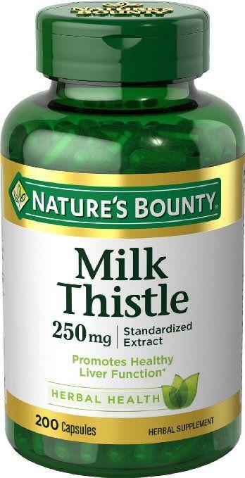 Viên uống giải độc gan Nature's Bounty Milk Thistle 250mg