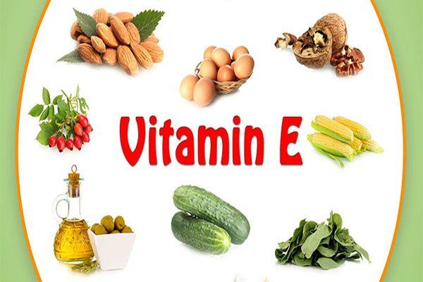 Vitamin E có nhiều trong các sản phẩm tự nhiên