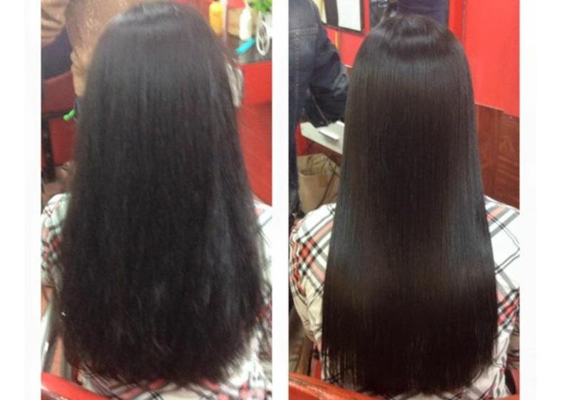 Với Collagen Karseell Maca tóc bạn không còn khô, xơ, giảm gãy rụng và trở nên bồng bềnh hơn sau mỗi lần sử dụng