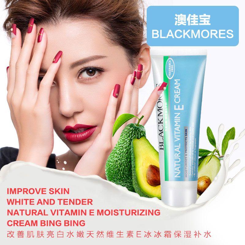 Kem dưỡng da Vitamin E Blackmores giúp dưỡng ẩm, điều trị da khô, nứt nẻ, cho bạn làn da mềm mại, mịn màng, sáng khỏe