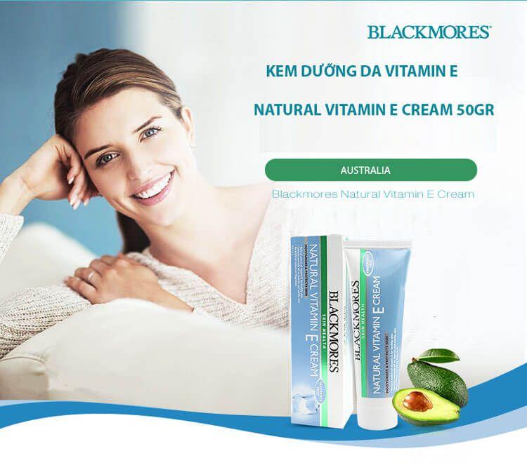 Kem dưỡng da Vitamin E tự nhiên Blackmores