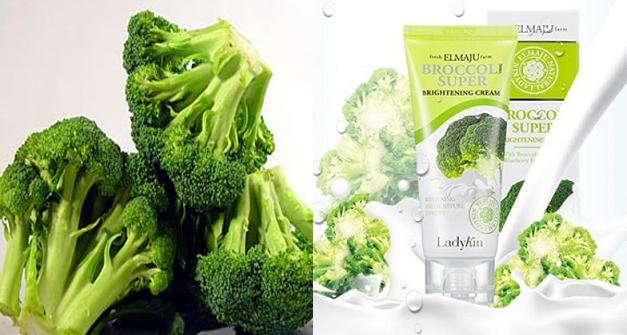 Sulforaphane và carotin thành phần của bông cải xanh giúp tái tạo da khô, da nhạy cảm và tăng cường sức đề kháng cho da