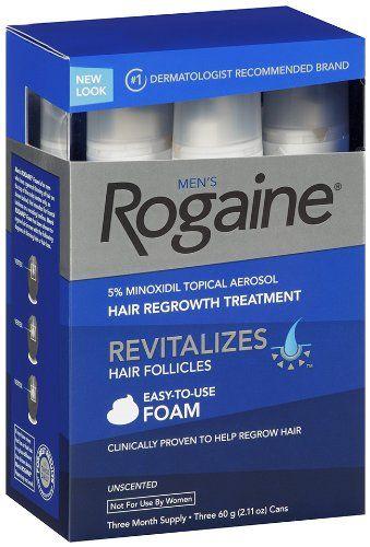 Thuốc mọc tóc Minoxidil 5% Men's Rogaine dạng bọt cho nam