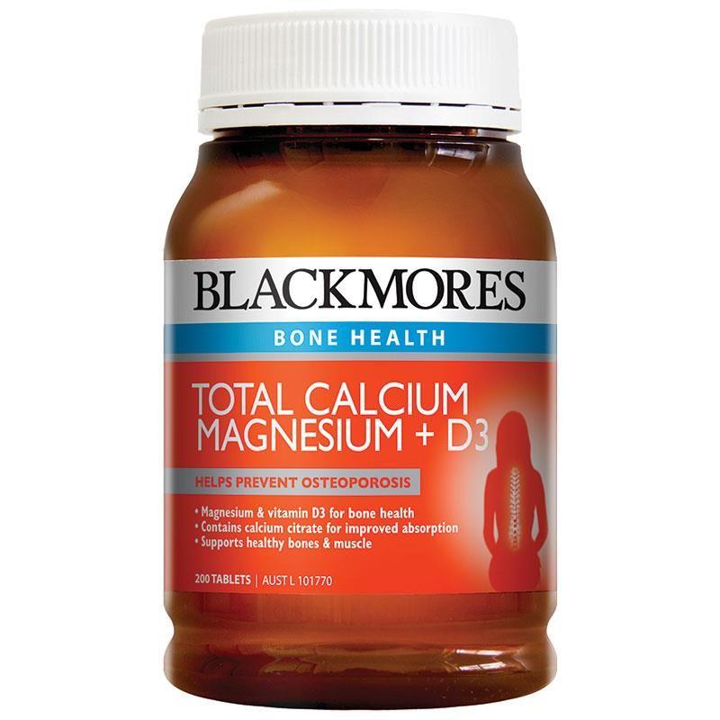 Viên bổ sung Calcium & Magnesium + D3 Blackmores