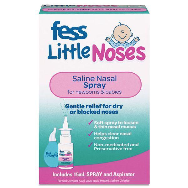 Xịt nghẹt mũi, sổ mũi Fess Little Noses Spray
