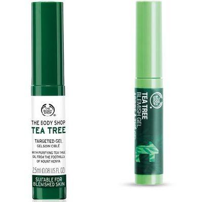 Tea Tree Blemish Gel mẫu mới và mẫu cũ