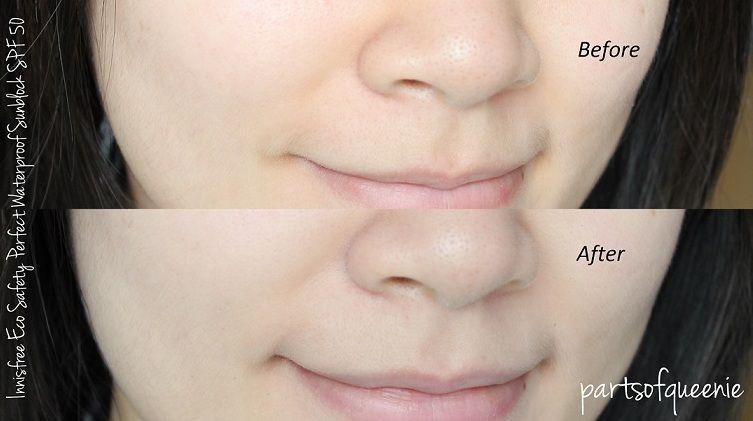 """Kem chống nắng Innisfree Triple Care SPF 50+ """"tích hợp"""" cả 3 chức năng: dưỡng trắng, ngừa lão hóa và bảo vệ da khỏi tia UV"""
