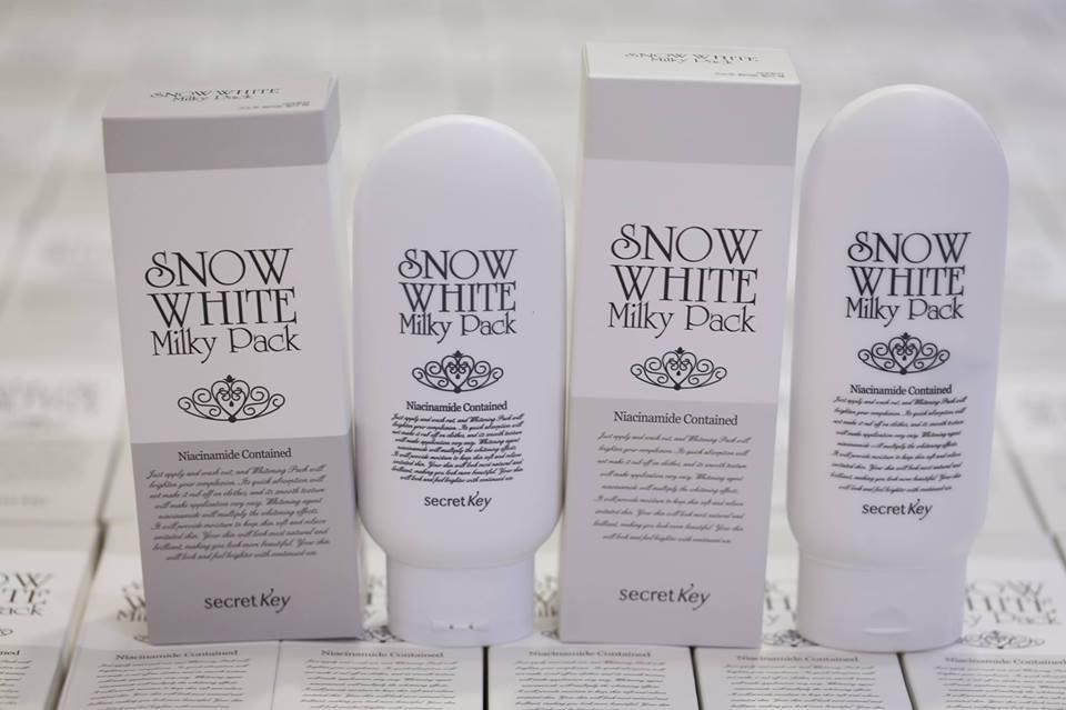 Kem tắm trắng Snow White Milky Pack Hàn Quốc, kem tắm trắng toàn thân dịu nhẹ, Giá tốt