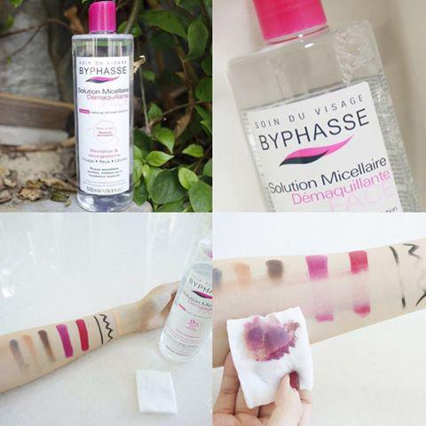 Nước tẩy trang Byphasse sử dụng công nghệ Micellar facial cleanser, giúp nhẹ nhàng lấy đi tất cả bụi bẩn và lớp makeup cứng đầu trên da