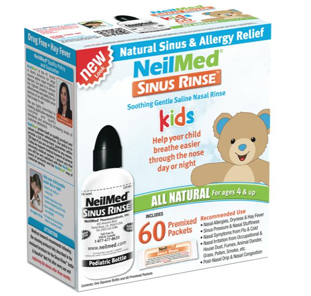 Bình rửa mũi NeilMed Sinus Rinse cho trẻ trên 4 tuổi