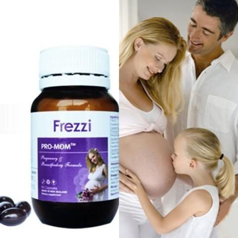 Frezzi Pro-Mom Cung cấp đầy đủ 18 vi dưỡng chất cần thiết cho mẹ bầu và thai nhi như