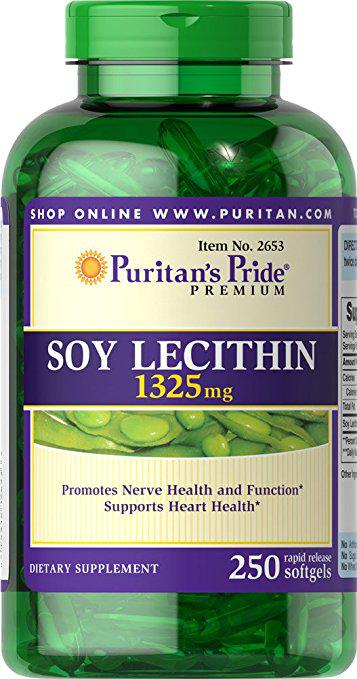 Tinh chất mầm Đậu Nành Soy Lecithin 1325 mg Puritan Pride