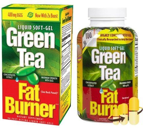 Viên hỗ trợ giảm cân trà xanh Green Tea Fat Burner của Mỹ