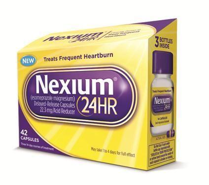 Viên uống hỗ trợ trị viêm loét dạ dày Nexium 24hr