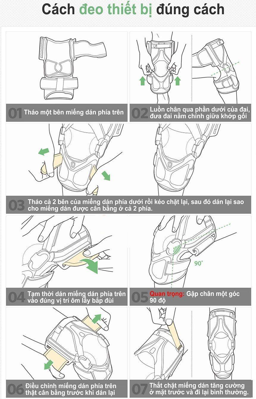Cách sử dụng Đai kéo giãn hỗ trợ trị đau khớp gối DiskDr