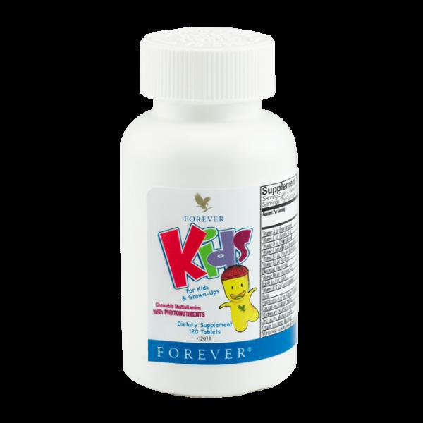 Forever Kids kẹo bổ sung dinh dưỡng cho trẻ biếng ăn, chậm lớn