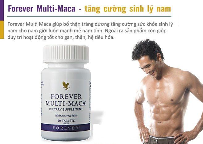 Công dụng của Forever Multi-Maca