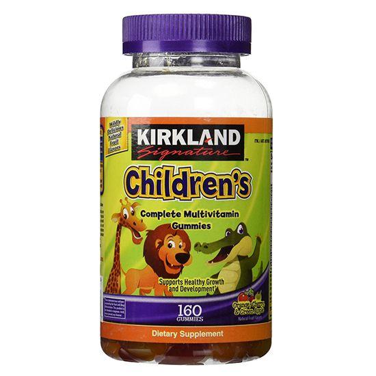 Kẹo Kirkland Children's Multivitamin bổ sung vitamin cho bé