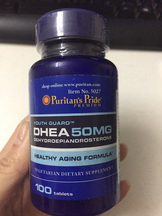 Viên uống tăng nội tiết tố nữ DHEA 50mg Puritan's Pride