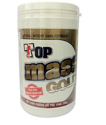 Sữa Top Mass Gold Hộp 800g - Tăng cân cho người gầy chính hãng