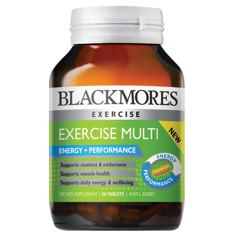 Viên tăng cường năng lượng, cơ bắp Blackmores Exercise Multi