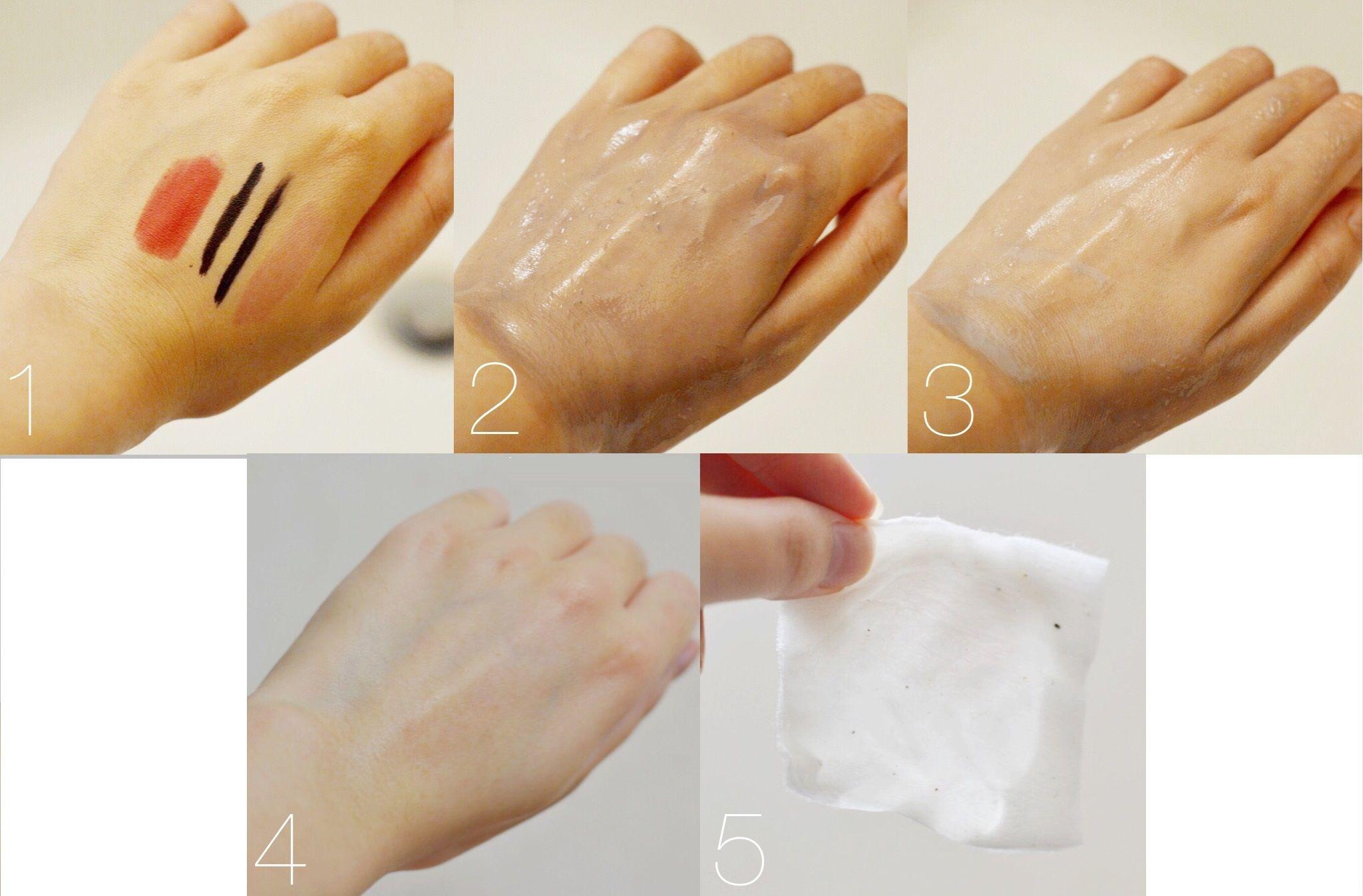 Tẩy trang Muji Oil Cleansing chuyển thành dạng sữa sau khi thêm nước, không nhiều và rất dễ rửa sạch bằng nước, không để lại nhờn dính trên da