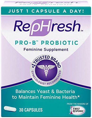 RepHresh Pro-B Probiotic bổ sung lợi khuẩn âm đạo