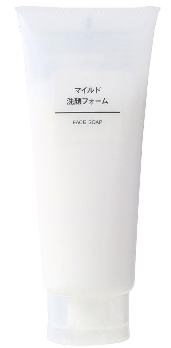 Muji Face Soap: dành cho da thường, da dầu, hỗn hợp.