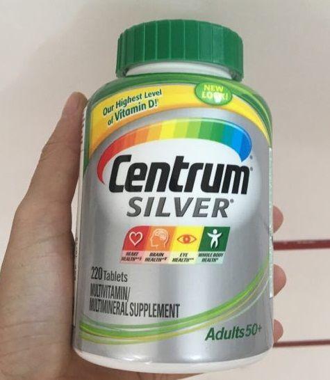 Viên uống Centrum Silver Adults 50+  - Vitamin tổng hợp cho người già