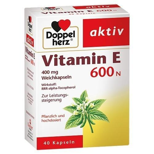 Vitamin E 600N Doppel Herz