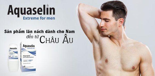 Công dụng của lăn khử mùi Aquaselin cho nam
