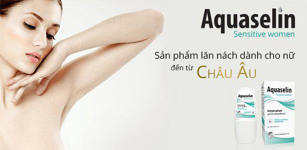 Ưu điểm của Lăn khử mùi Aquaselin Sensitive Women cho nữ