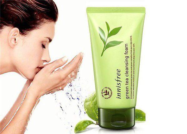 Innisfree Green Tea Pure Cleansing Foam, bí quyết làm đẹp của phụ nữ