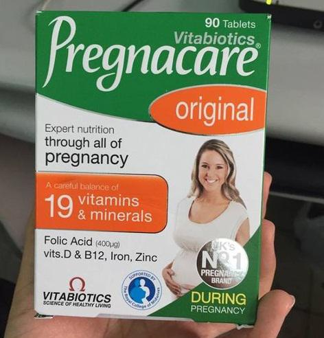 Vitamin tổng hợp cho bà bầu Vitabiotics Pregnacare Original