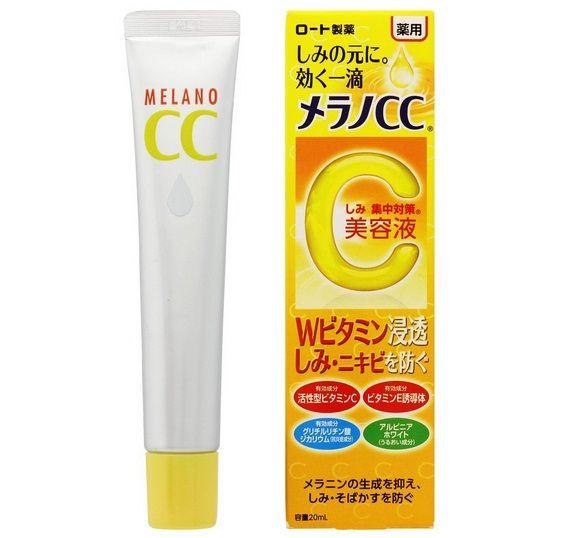 Mua Serum CC Melano chính hãng Nhật - Dưỡng trắng, mờ vết thâm