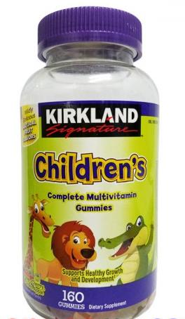 Kẹo Bổ Sung Vitamin Cho Bé Kirkland Children's Multivitamin mẫu 2018
