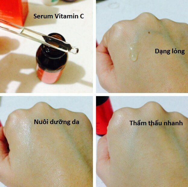 Cách sử dụng Serum Vitamin C Ava Youth Activation
