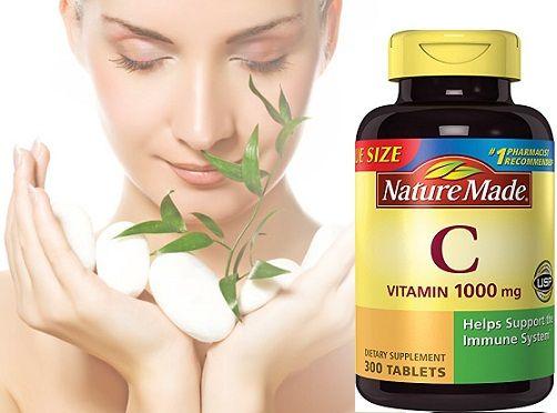 Bổ sung vitamin C giúp tăng sức đề kháng, chống nhiễm khuẩn, làm đẹp da