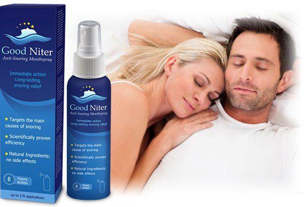 Công dụng của Xịt chống ngáy ngủ Good Niter