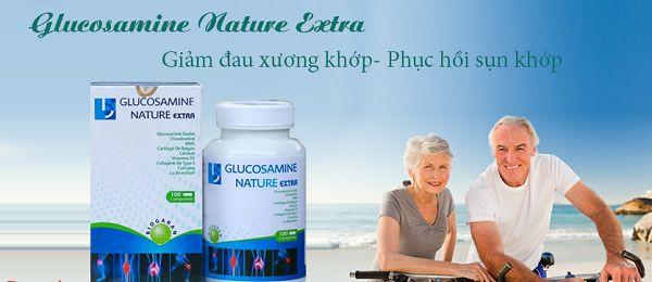 Công dụng của Viên bổ xương khớp Glucosamine Nature Extra
