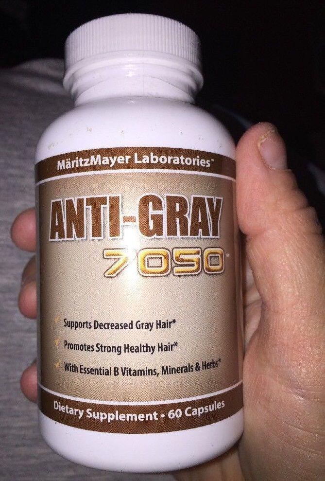 Viên uống hỗ trợ cải thiện tình trạng tóc bạc sớm Anti Gray 7050