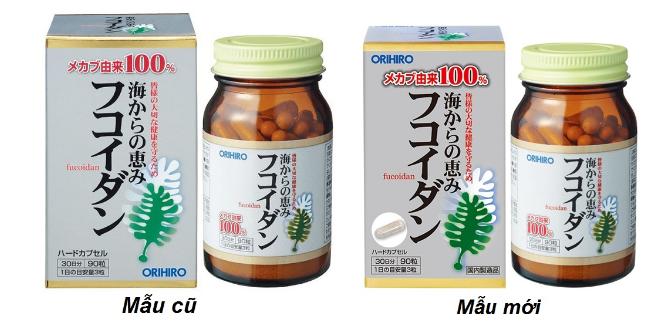 Tảo Fucoidan Orihiro Nhật Bản hỗ trợ trị ung thư, tim mạch
