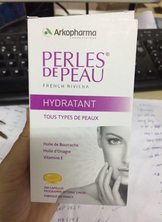 Viên uống đẹp da Perles de Peau của Pháp 200 viên 2