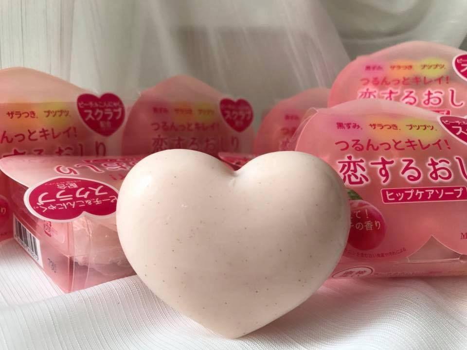 Xà phòng trị thâm mông Pelican Hip Care Soap 80g của Nhật
