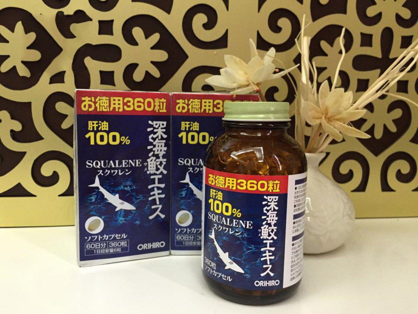 Sụn vi cá mập Squalene Orihiro bổ xương khớp hiệu quả