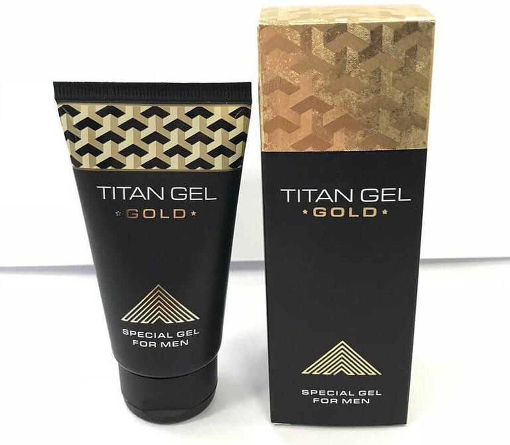 Titan Gel Gold Cao Cấp - Tăng Kích Thước Dương Vật