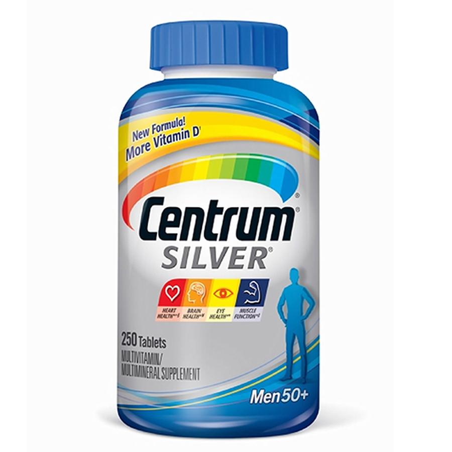Vitamin Tổng Hợp Cho Nam Trên 50 Tuổi Centrum Silver Men 50+ 1